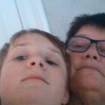 minsta brorsonen och jag