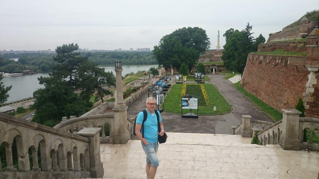 Floderna Donau och Sava går ihop här.