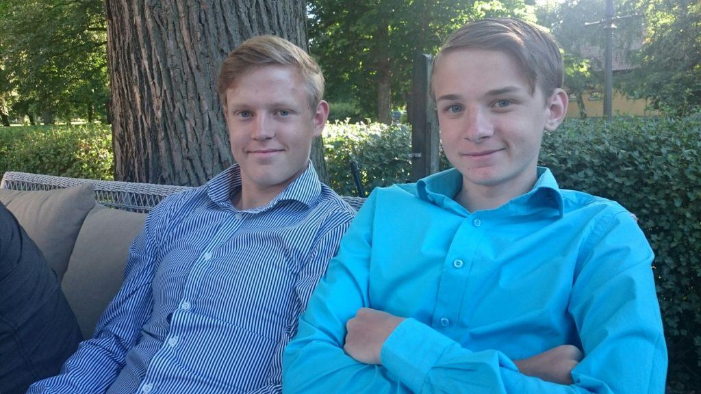 Lukas och Isak - Mina fina brorssöner